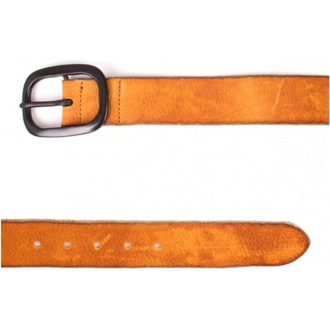 Diesel Moody Leather Belt, Tan