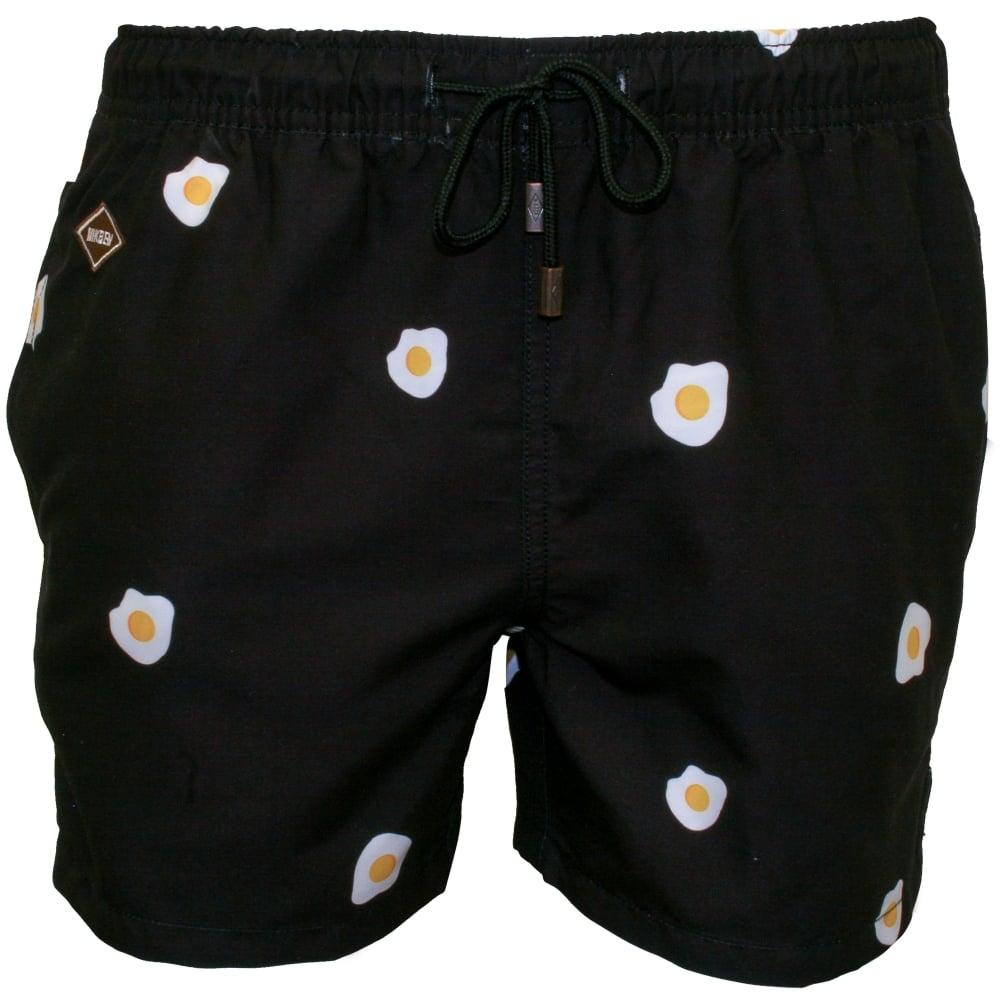 d65063ed7a Nikben Benedict Swim Shorts, Black | Nikben swim shorts | UnderU