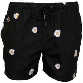 Benedict Swim Shorts, Black