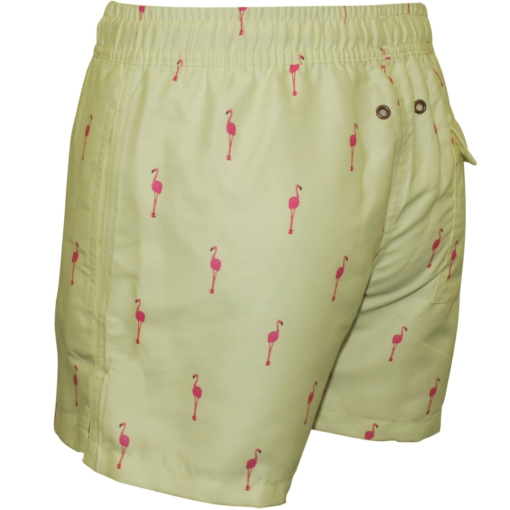 d8766c498a Nikben Flamingo Swim Shorts, Lemon | Nikben swim shorts | UnderU