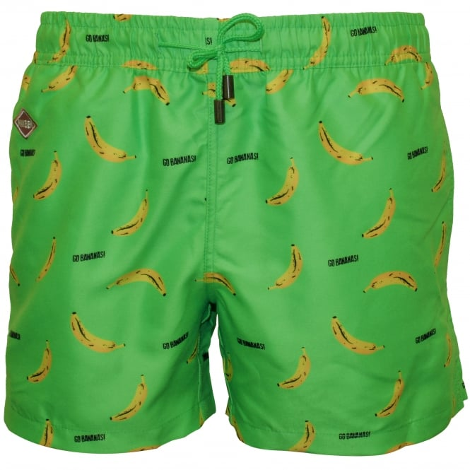 Nikben Go Bananas Swim Shorts, Green