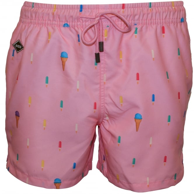 Nikben Popsicle Swim Shorts, Soft Pink