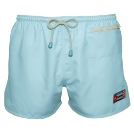 East Hampton Retro Swimming Shorts, Sky Blue