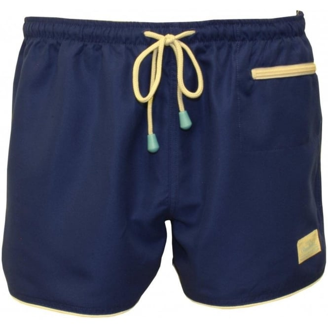 Oiler & Boiler East Hampton Swim Shorts, USA Navy | UnderU