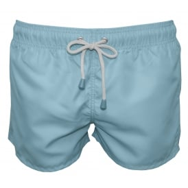 Tuckernuck Shortie Swim Shorts, Smooth Blue