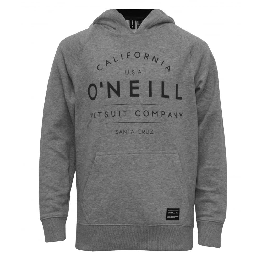 b1e7a15b O'Neill California Boys Hoodie, Silver Melee | Boys Hoodies | UnderU