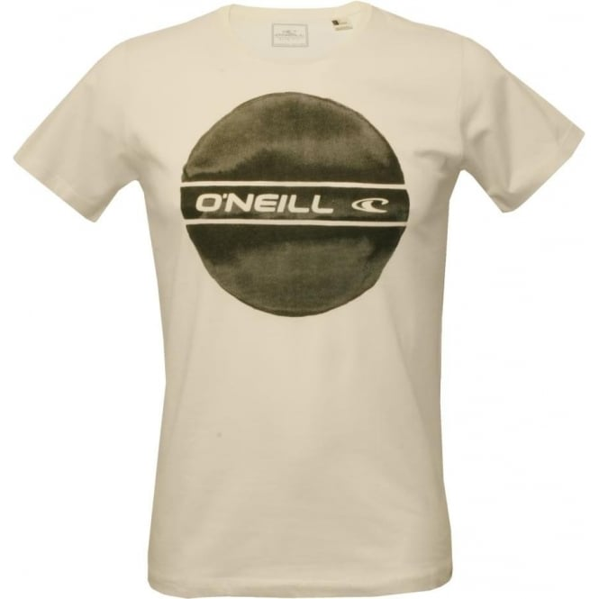 O 39 neill circle logo t shirt white underu for Tee shirt logo placement