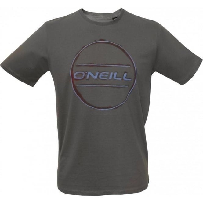 O'Neill LM Painted Logo Crew-Neck T-Shirt, Grey