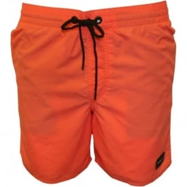 PM O'Riginals Vert Swim Shorts, Coral Red