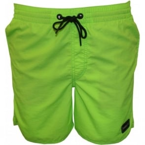 PM O'Riginals Vert Swim Shorts, Fluor Green