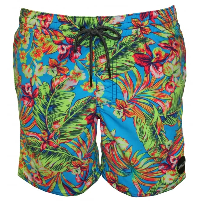 O'Neill PM Thirst For Surf Floral Print Swim Shorts, Multi