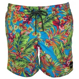 PM Thirst For Surf Floral Print Swim Shorts, Multi