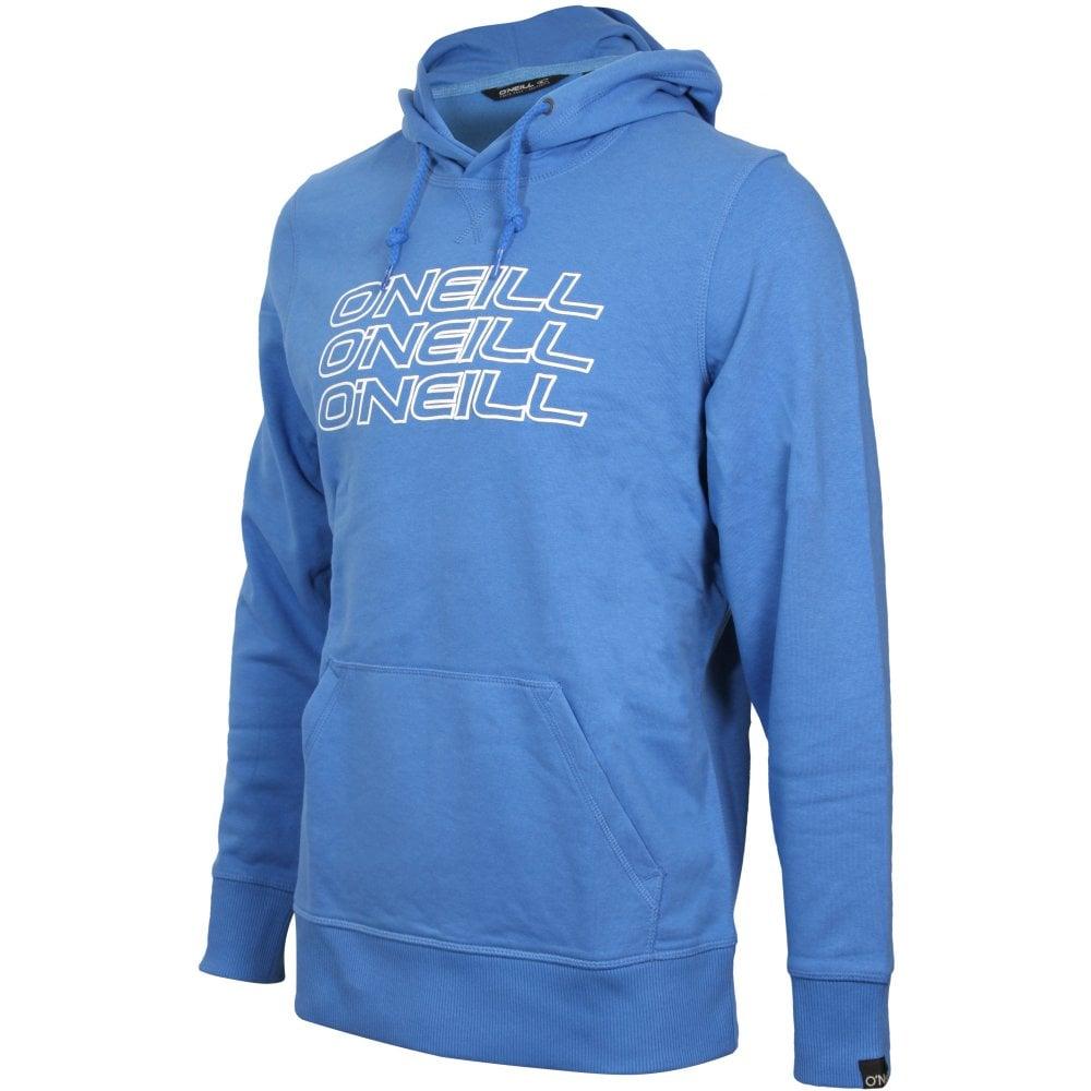 Ink Blue ONeill LM Triple Logo Mens Hoodie