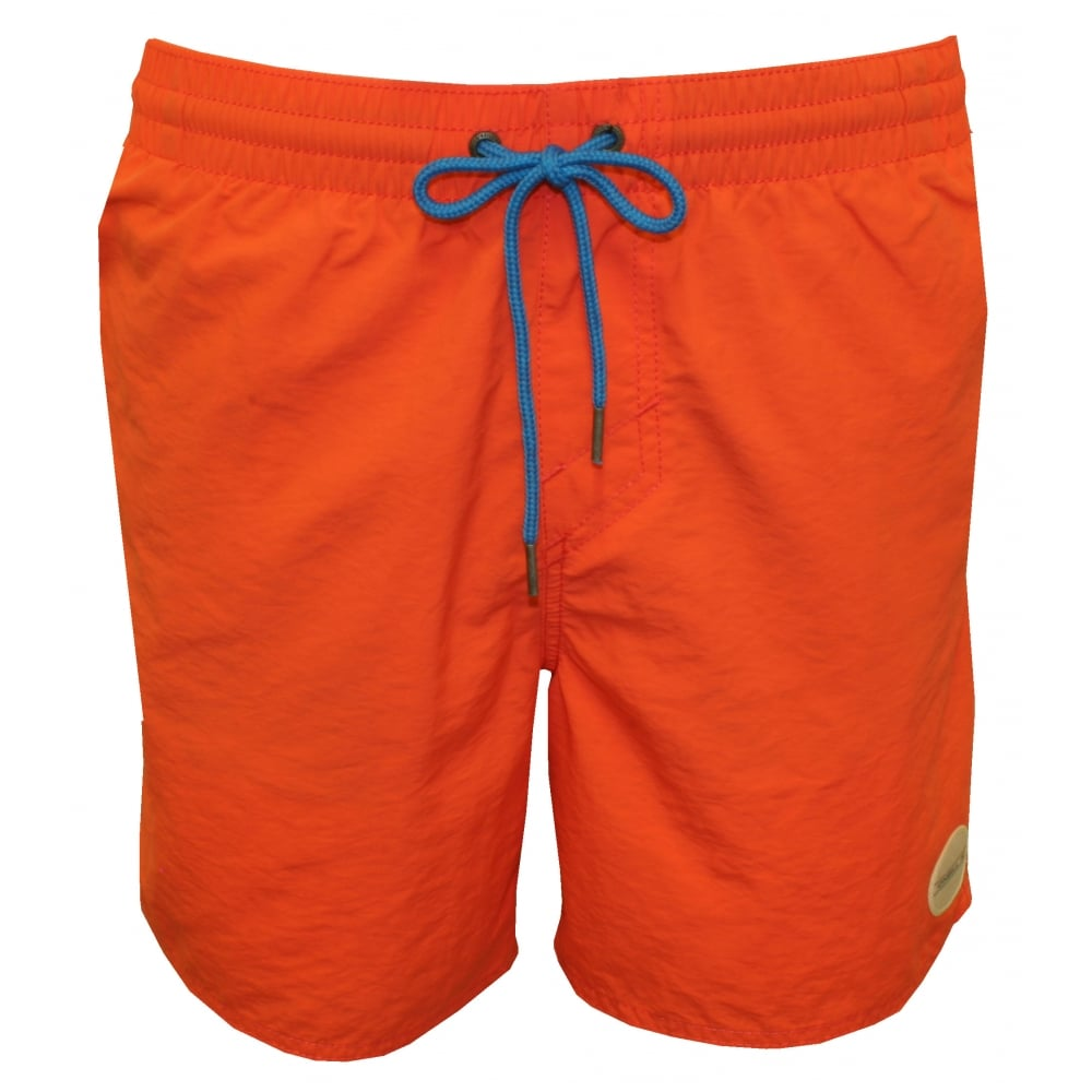43027ae7f8 O'Neill Vert Solid Colour Swim Shorts, Coral | UnderU Swim Shorts ...