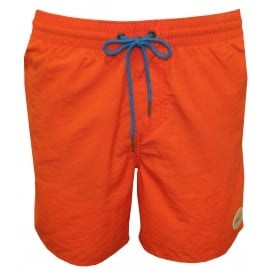 Vert Solid Colour Swim Shorts, Deep Sea Coral