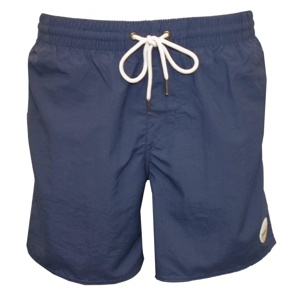 e3aa172dbd O'Neill Vert Solid Colour Swim Shorts, Dusty Blue | UnderU Swim ...