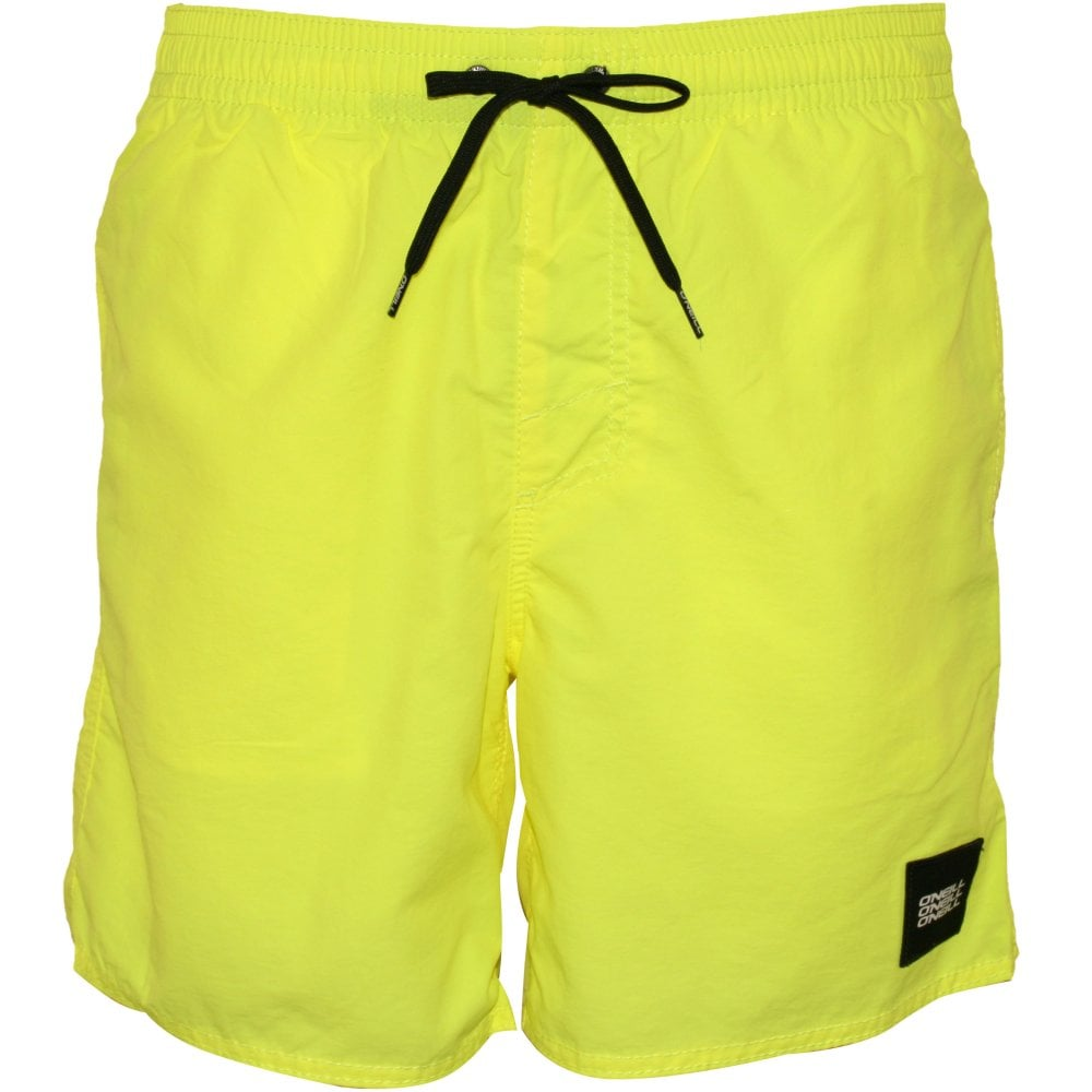 5e643f1bd3 O'Neill Vert Swim Shorts, Yellow | O'Neill Swim Shorts | UnderU