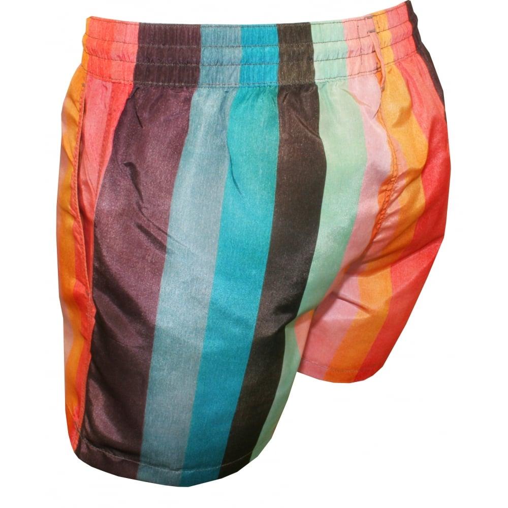 b46a444e8c Paul Smith Artist Stripe Swim Shorts | Paul Smith swim short | UnderU