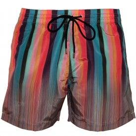 373d1ff589 Mixed Signature Stripe Swim Shorts, Multi. Paul Smith ...
