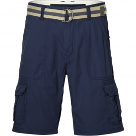 Point Break Cargo Shorts, Ink Blue