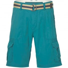 Point Break Cargo Shorts, Veridian Green