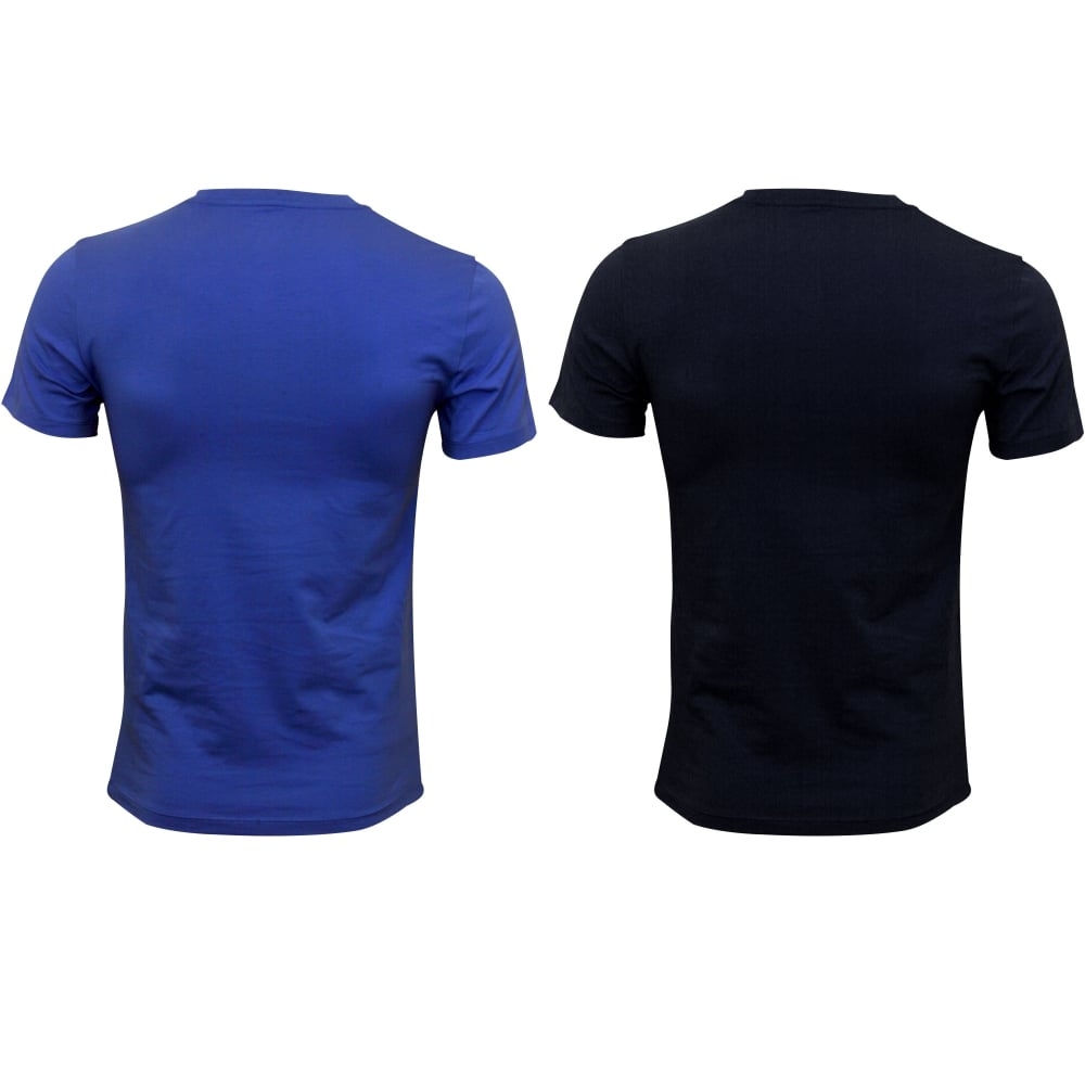 bc442eecbd17 Polo Ralph Lauren 2-Pack Short-Sleeve Crew-Neck T-Shirts Sky Navy ...