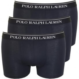 3-Pack Classic Boxer Trunks, Navy