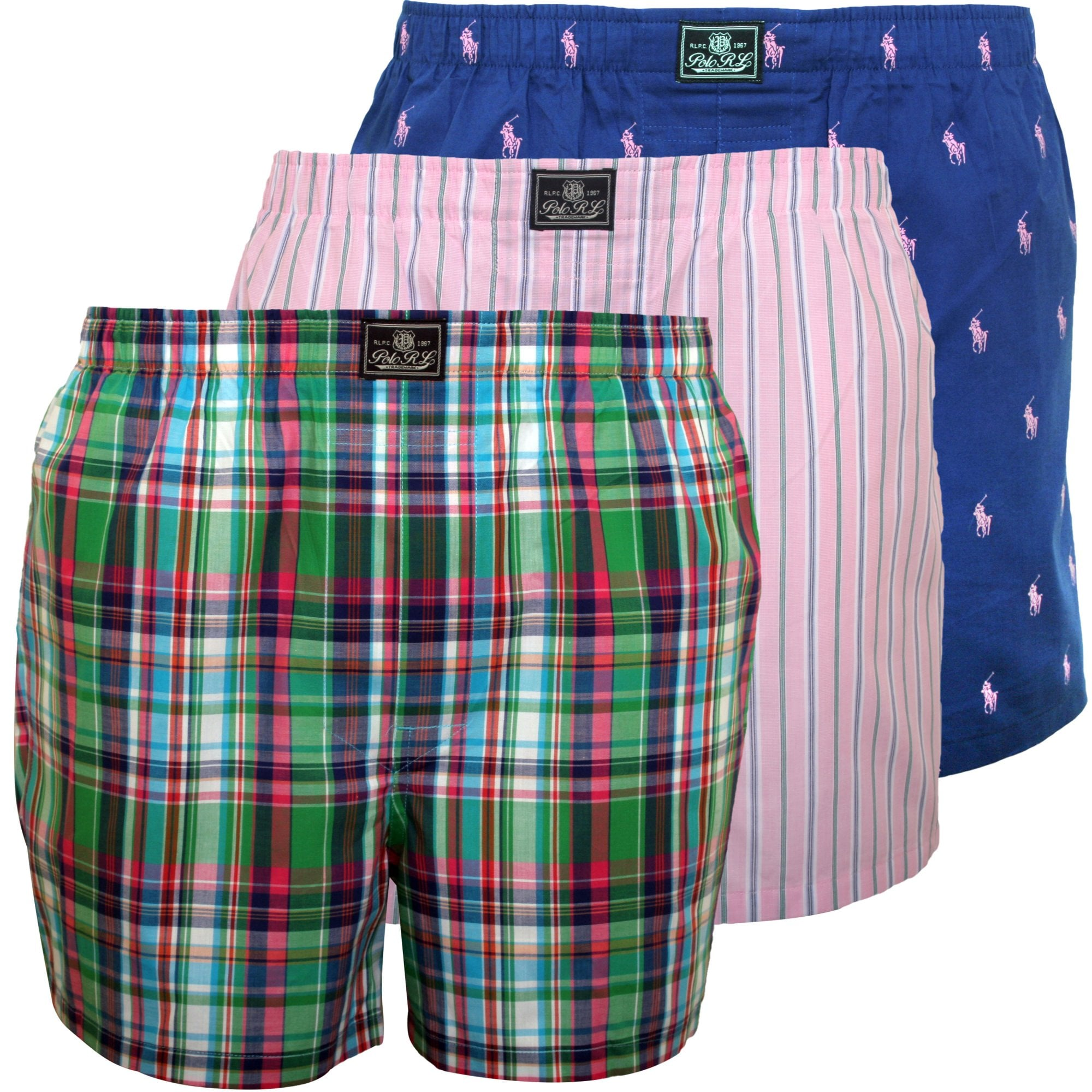 Original Penguin Boys 4-Pack Woven Boxer Shorts