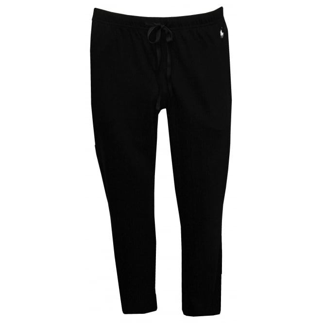 Polo Ralph Lauren Classic Jersey Cotton Lounge Pants, Black