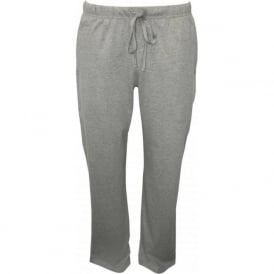 Classic Jersey Cotton Lounge Pants, Heather Grey