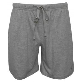 Classic Jersey Cotton Lounge Shorts, Heather Grey
