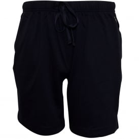 Classic Jersey Cotton Lounge Shorts, Navy