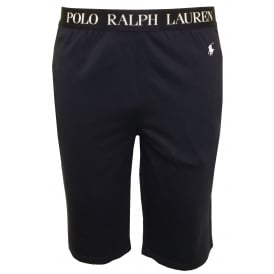 Classic Logo Jersey Lounge Shorts, Navy