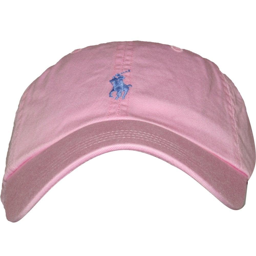 46fbce2d Polo Ralph Lauren Classic Sport Cap, Baby Pink | UnderU