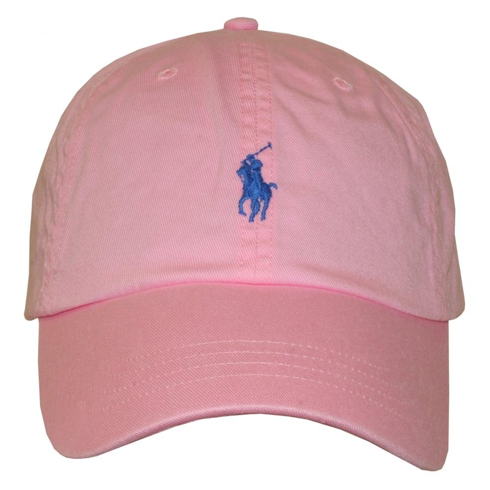 f4b37641 Polo Ralph Lauren Classic Sport Cap, Carmel Pink | UnderU