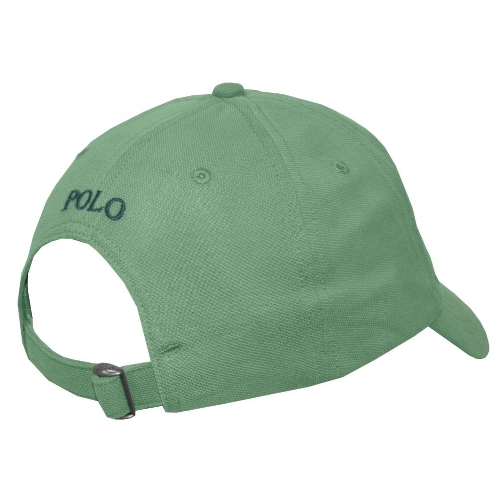 ef441665 Polo Ralph Lauren Classic Sport Cap, Diver Green | UnderU