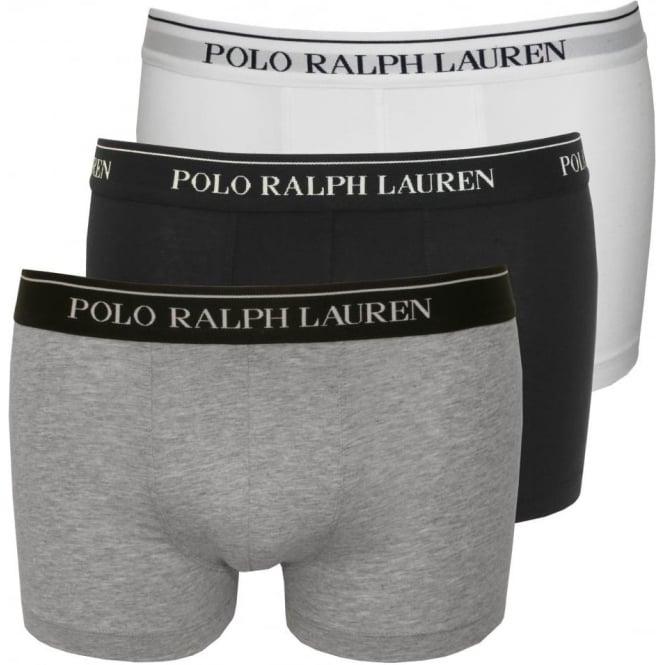 75e0f41df Polo Ralph Lauren Cotton Stretch Triple Pack Boxer Trunks