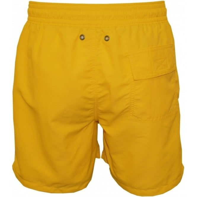 89b9270c Polo Ralph Lauren Hawaiian Swim Shorts, Oasis Yellow | UnderU
