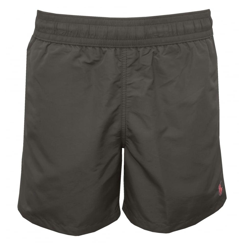 Hawaiian Swim Shorts, Combat Grey