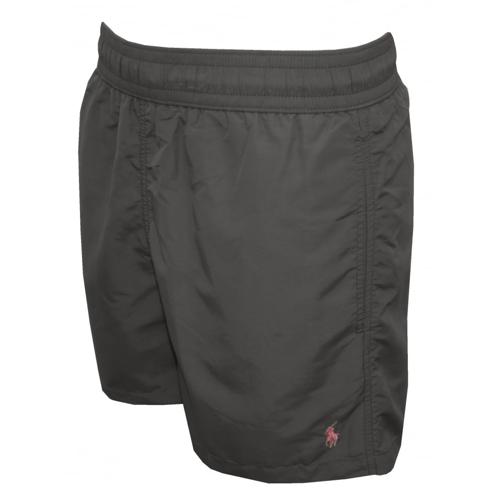 ccaaa2ad72 Polo Ralph Lauren Hawaiian Swim Shorts, Combat Grey | UnderU
