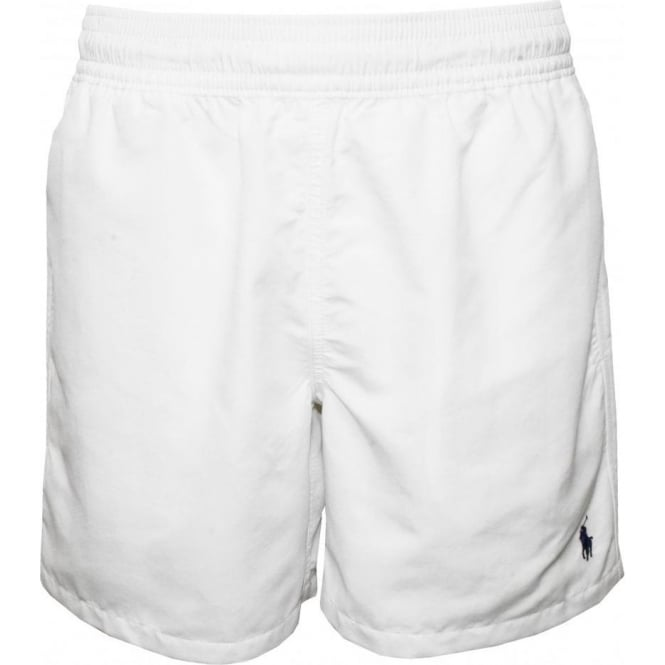 9973220a8e Polo Ralph Lauren Hawaiian Swim Shorts, Hawaiian Swim Shorts, White ...