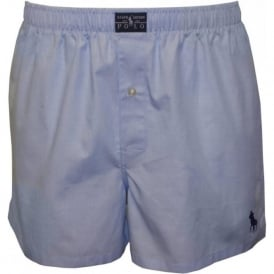 Heritage Oxford Woven Boxer Short, Sky Blue