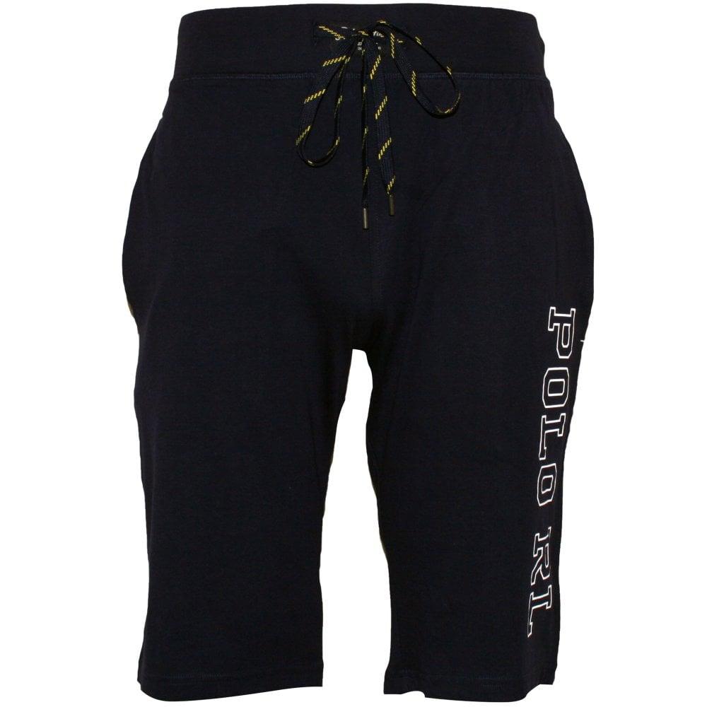 94443ab06 Liquid Cotton Jersey Cuffed  quot POLO RL quot  Jogging Shorts ...