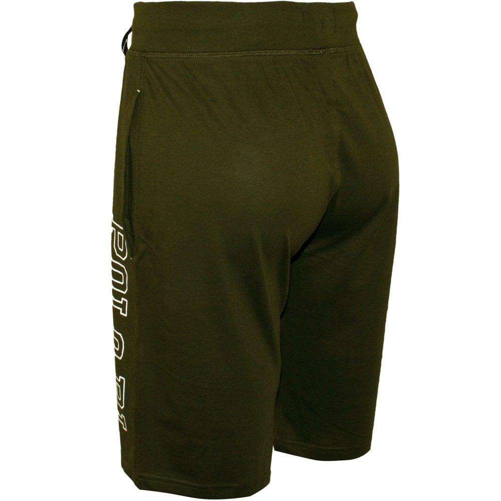 7082fc6b3 Liquid Cotton Jersey Cuffed  quot POLO RL quot  Jogging Shorts