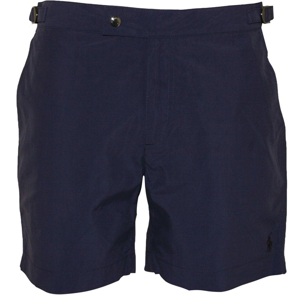 d85e74e71d Polo Ralph Lauren Monaco Beach-to-Bar Swim Shorts, Navy | UnderU