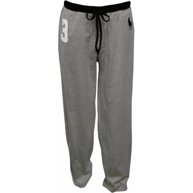 Polo Ralph Lauren No.3 Lounge Pants with Large Pony Player, Grey
