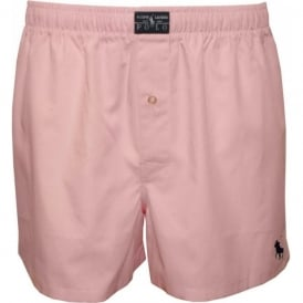 Pinpoint Oxford Woven Boxer Short, Harbour Pink