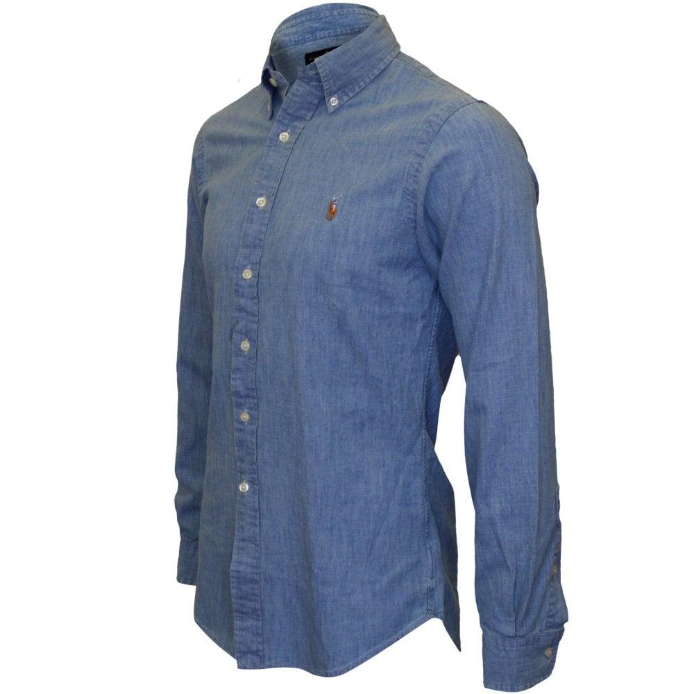 Fit Slim ShirtBlue Fit Fit Chambray ShirtBlue Chambray Slim Slim N80OwnPXZk