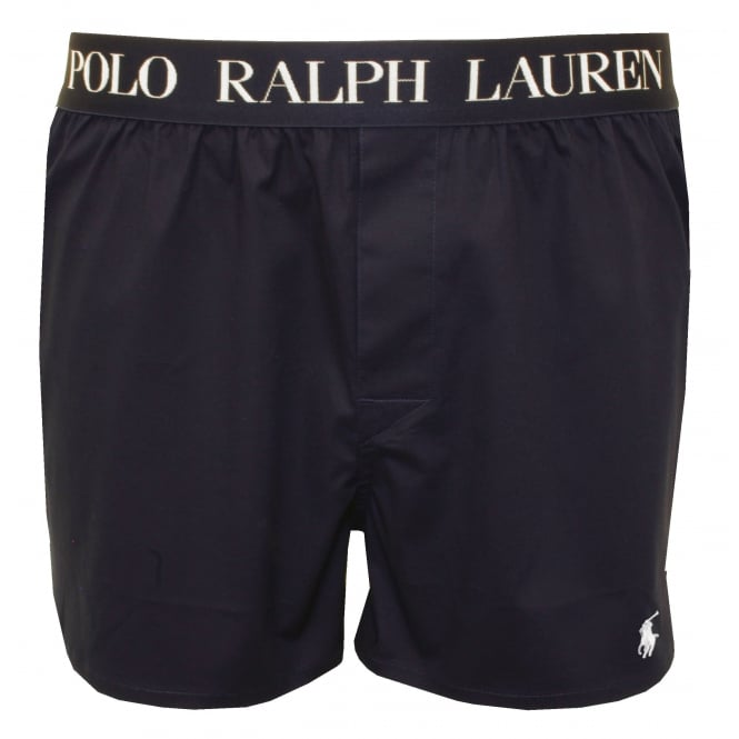 polo ralph lauren slim fit signature boxer short navy. Black Bedroom Furniture Sets. Home Design Ideas