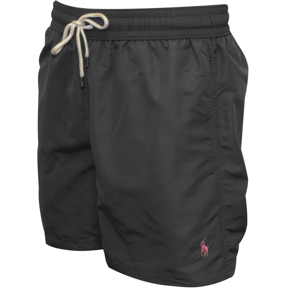 9a4fcac78c Polo Ralph Lauren Traveller Swim Shorts, Combat Grey | UnderU